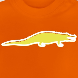 A Dangerous Crocodile - Baby T-Shirt