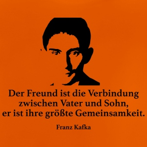 Kafka: The friend is the connection between Vat - Baby T-Shirt