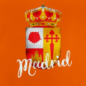 Spain Madrid coat of arms holiday tourist memory lo - Baby T-Shirt