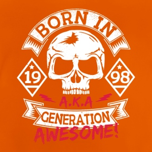 6 born in 98 - Baby T-Shirt