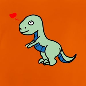 Allosaurus Dino T-Shirt with sweet dinosaur - Baby T-Shirt