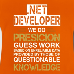 NET DEVELOPER Precision - Baby-T-skjorte