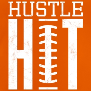 Super Bowl / fotboll: Hustle Hit - Baby-T-shirt