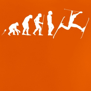 Evolution Ski Jump - Baby-T-shirt