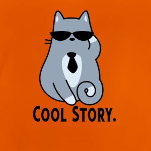 COOL STORY CAT - Baby-T-shirt