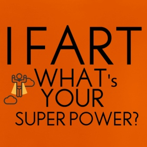 Farting superpower - Baby T-Shirt