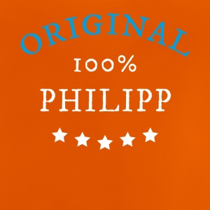 Original 100% Philipp, gift, name - Baby T-Shirt
