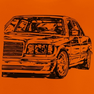 W126 dirty - Baby T-shirt