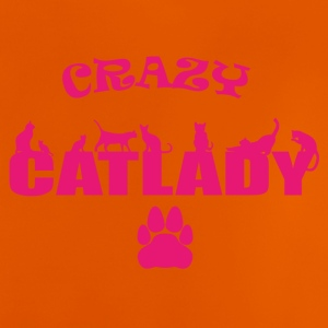 CRAZY CATLADY pink - limited - Baby T-Shirt