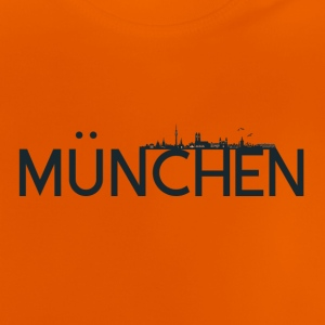 Munich logo with skyline - Baby T-Shirt