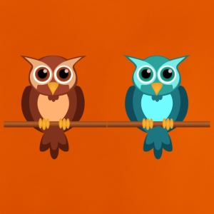 Two owls - Baby T-Shirt