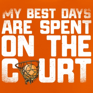 12 best days basketball - Baby T-Shirt
