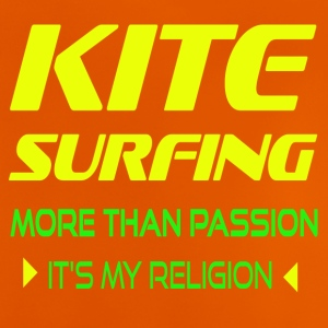 KITESURFING MORE THAN PASSION - ITS MY RELIGION - Baby T-Shirt