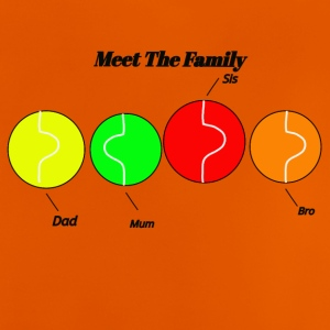 meet the family - Baby T-Shirt