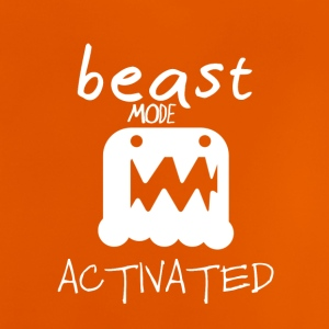 Monster mode activated - beast mode activated - Baby T-Shirt