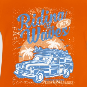 Riding The Waves - Baby T-Shirt