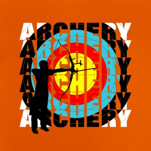 Archery Sports Cool Typography Archers Graphic - T-shirt Bébé