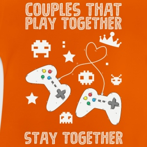 Couples that play game together - Baby T-Shirt