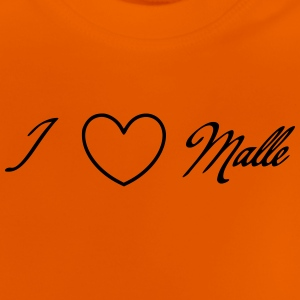 i love malle - Baby T-Shirt