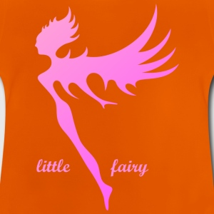The small rosaviolette angel fairy - Baby T-Shirt
