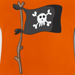 Piratenflagge - Baby T-Shirt