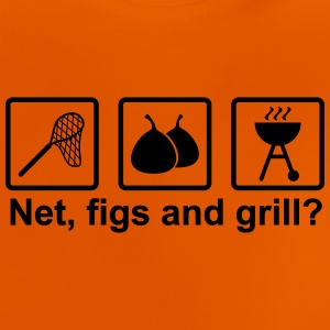Net, figs and grill - Baby T-Shirt