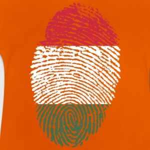 Fingerprint - Ungarn - Baby T-Shirt