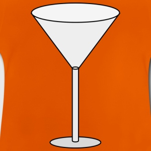 verre à cocktail - T-shirt Bébé