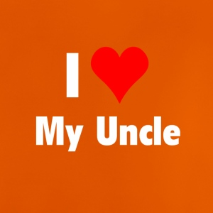 I love my uncle - Babysuit Babybody Baby - Baby T-Shirt