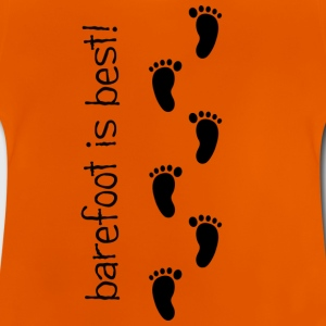 Barefoot is Best! - Baby T-Shirt