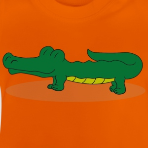 crocodile - T-shirt Bébé