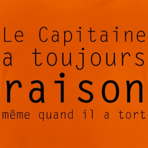 le capitaine - T-shirt Bébé