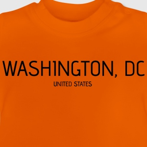 Washington DC - Camiseta bebé