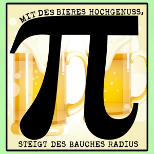 With the beer Hochgenuss! - Baby T-Shirt