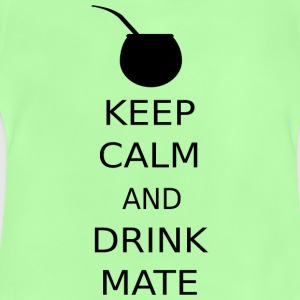 KEEP CALM AND DRINKMATE - Baby T-Shirt