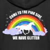 Unicorn *Come to the pink side - we have glitter* - Veste à capuche Premium Enfant