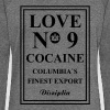 Love No9 Cocaine Columbia´s Finest Export - Women's Boat Neck Long Sleeve Top