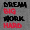 Dream big, work hard - Damegenser med båthals fra Bella