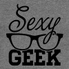 Like a i love cool sexy geek nerd glasses hipster - Sudadera con escote drapeado mujer