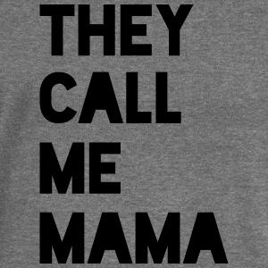 THEY CALL ME MAMA - Women's Boat Neck Long Sleeve Top