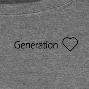 Generation Love - Women's Boat Neck Long Sleeve Top