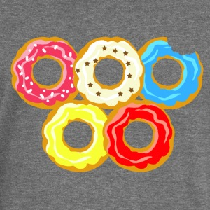 donuts - Women's Boat Neck Long Sleeve Top