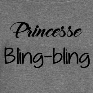 Princess bling bling - Women's Boat Neck Long Sleeve Top