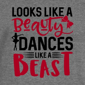 Looks Like A Beauty Dances Like A Beast - Women's Boat Neck Long Sleeve Top