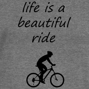lifes a beautiful ride - Women's Boat Neck Long Sleeve Top