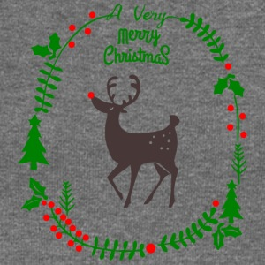 A very Merry Christmas - Women's Boat Neck Long Sleeve Top