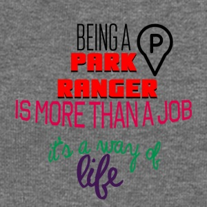 Being a park ranger is more than a job - Women's Boat Neck Long Sleeve Top