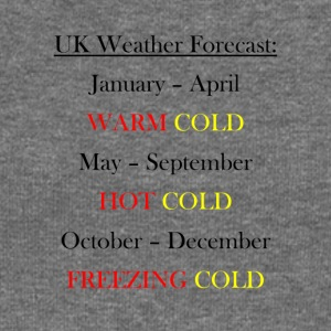 UK Weather Joke - Women's Boat Neck Long Sleeve Top