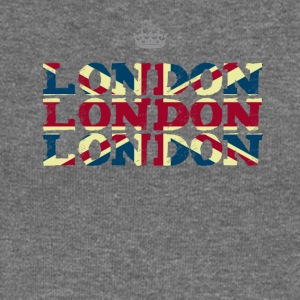 London England Union Jack brexit crown Queen trip - Women's Boat Neck Long Sleeve Top