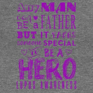 Lupus Awareness! Father is a Hero! - Women's Boat Neck Long Sleeve Top